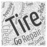 Word Cloud Text Background Concept. Preventing The Need For Costly Repair word cloud concept Stock Photography