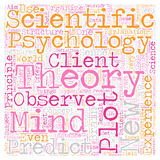 Word Cloud Text Background Concept. Is Psychology a Science text background wordcloud concept Stock Photo