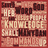 Word Cloud Text Background Concept. Between Saint and Sinner pt 1 text background wordcloud concept Royalty Free Stock Photography