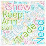 Word Cloud Text Background Concept. Strong Arm Sales Stop Success Cold text background wordcloud concept Royalty Free Stock Image