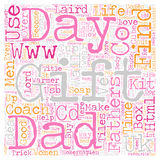 Word Cloud Text Background Concept. Stuck for Fathers Day gifts Find me a gift has the answer text background wordcloud concept Royalty Free Stock Images