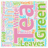 Word Cloud Text Background Concept. Tea How Is Jasmine Tea Different From Other Teas text background wordcloud concept Royalty Free Stock Photos