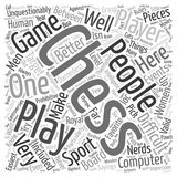 Word Cloud Text Background Concept. The Truth About Chess text background wordcloud concept Royalty Free Stock Photo