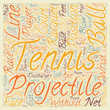 Word Cloud Text Background Concept. Are You A Tennis Player text background wordcloud concept Stock Photography