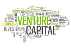 Word Cloud Venture Capital. Word Cloud with Venture Capital related tags Royalty Free Stock Photography