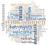 Word Cloud Welcome Stock Photos