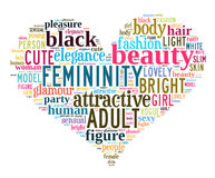 Word cloud - woman Royalty Free Stock Photo