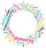 Word clouds Stock Photography