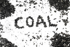 Word of coal Stock Photos