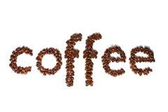Word Coffee Stock Photo