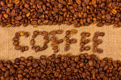 The word coffee Stock Photos