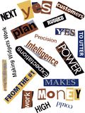 Word Collage Royalty Free Stock Photos