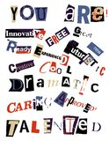 Word Collage Royalty Free Stock Image