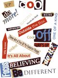 Word Collage Royalty Free Stock Photo