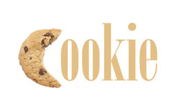The Word Cookie Stock Photo