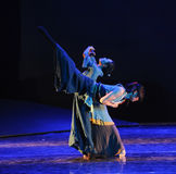 Word dance-The dance drama The legend of the Condor Heroes Stock Photography