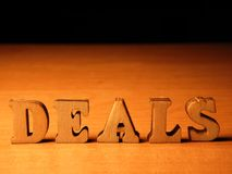 Word deals royalty free stock photo
