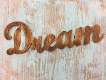 Word dream background Stock Photos