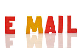 Word E-mail Stock Photos