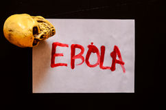 Word Ebola Text Stock Image