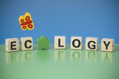 Word ECOLOGY Royalty Free Stock Photo