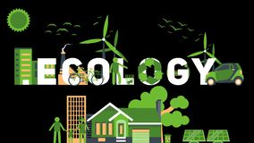 Word `ECOLOGY`