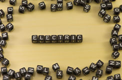 The word electric Stock Photos
