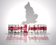 Word England Royalty Free Stock Photography