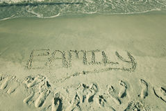 The word Family Stock Photos