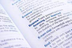 Word finance stock photos