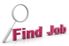 Word Find Job And Lance Royalty Free Stock Photo