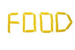 Word: FOOD Stock Photos