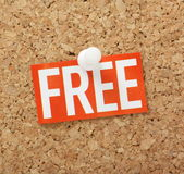 The word Free Royalty Free Stock Image