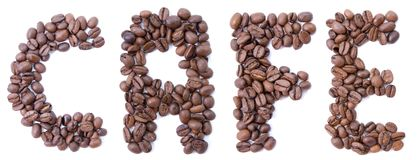 Free Word From Beans Coffee Stock Photo - 6235010