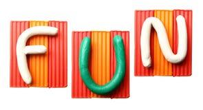 Word FUN Stock Photo