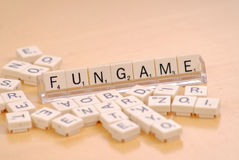 Word Game Royalty Free Stock Image