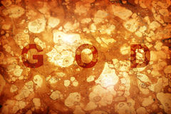 God background Royalty Free Stock Image