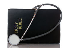 The Word of God is the Cure for our Illness Royalty Free Stock Images