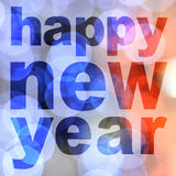 Word happy new year Stock Photography