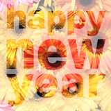 Word happy new year Royalty Free Stock Image