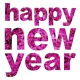 Word happy new year Stock Photo