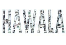 The word hawala royalty free stock image