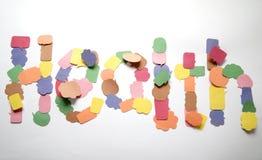 Word health Stock Photos