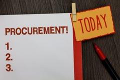 Word het schrijven tekstverwerving Motievenvraag Het bedrijfsconcept voor het Verkrijgen van Aankoop van materiaal en de levering royalty-vrije stock fotografie