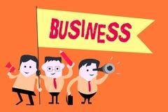 Word het schrijven tekstzaken Bedrijfsconcept voor diensten van de activiteiten Verkopende goederen van het Beroepsberoep de Comm vector illustratie