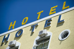 Word Hotel Royalty Free Stock Photo