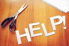 Word Hulp van document op de lijst wordt verwijderd die Stock Fotografie