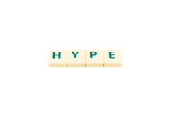 Word hype Royalty Free Stock Images