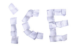 Word ice Stock Images