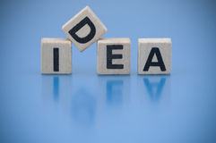 Word Idea Stock Image